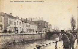 Sarrebourg (Moselle) - Quai Et Pont De La Sarre - Edition F. Knecht - Carte Animée, N° 1052 - Sarrebourg