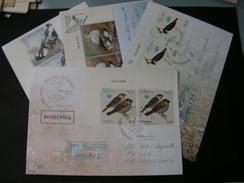Estland 4 Briefe Mit Vögel , Birds Ab  2001 - Estland