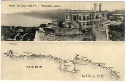 Portofino Vetta (Ge), Panorama Ovest ... - Italië