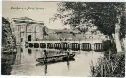Peschiera (Vr), Porta Verona Con Barc... - Italië