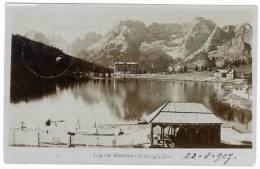 Lago Di Misurina, Veduta Fotogr. Col ... - Italië