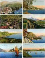 Lago Di Garda, Vedute E Scorci A Colo... - Italië