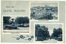 Castel Madama (Rm), Saluti Da..., Con... - Italië