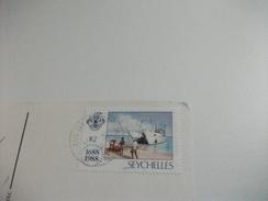STORIA POSTALE FRANCOBOLLO COMMEMORATIVO SEYCHELLES ANSE LAZIO PRASLIN - Seychelles