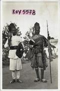 Eritrea Colonia Italiana Eritrea  Ascari Nei Loro Caratteristisci Costumi Anni 30 ( Vedere Retro Scansione) - Erythrée