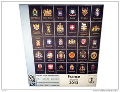 Jeu France DAVO Luxe 2eme Semestre 2013 - Pour Ranger Ses Timbres - Timbres