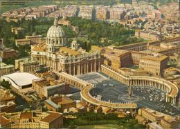 Citta Del Vaticano Platz Und Hl. Petrus Hauptkirche Rom - Vatikanstadt