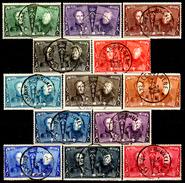 Belgio-173 - 1925: Yvert & Tellier N. 221-233 (o) Used - Senza Difetti Occulti. - 1921-1925 Petit Montenez