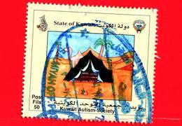 KUWAIT - Usato - 2014 - Autismo - Autism Society - 50 - Kuwait