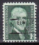 USA Precancel Vorausentwertung Preos Locals Kansas, Elwood 841