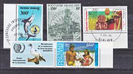 Polynésie PA 187 188 189 190  Divers Oblitéré Cachet Premier Jour Used  Cote 17.7 - Oblitérés