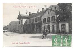 CPA   GUERRE 14-18 / WWI WESSERLING SOLDAT LA GARE - Sin Clasificación