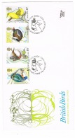 RB 1151 - 1980 GB FDC First Day Cover - British Birds - Sandy Postmark - FDC