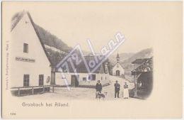 AK AUSTRIA A-0319 GROISBACH - Groisbach Bei Alland