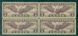 USA P A N° 12 Bloc De 4 N Xx Cote 96 € - Air Mail