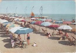Cartolina - Postcard  - CERVIA - OMBRELLONI SULLA SPIAGGIA -  RAVENNA - Ravenna
