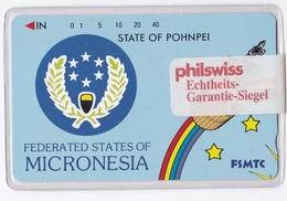 Telefonkarte Aus Micronesia -Erstausgabe- - Micronesia