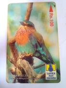 Sri Lanka Phonecard 35SRLB Rs 100 Roller