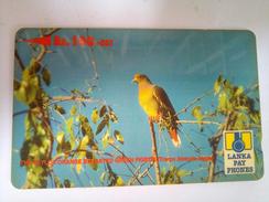 Sri Lanka Phonecard Rs 100 Rs 100 Pigeon