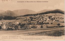 17 / 4 / 446  - LE BAERENTAL   PRÈS  DE  NIEDERBRONN  ( 67 )   -  VUE  GÉNÉRALE - Niederbronn Les Bains
