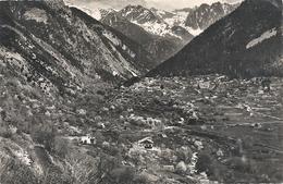 SAINT-MARTIN-DE-VESUBIE . VALLEE DU BOREON , QUARTIER SCLOS . AFFR LE 30-8-1956 AU VERSO . 2 SCANES - Saint-Martin-Vésubie