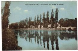 Melun, Le Confluent De La Seine Et De L'Almont (pk35081) - Melun