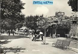 Lazio-roma-montecompatri Veduta Animata Passeggiata Alberata 1966 - Italia