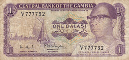 Gambia  - 1 DALASI Sir Dawda Kairabi Jawara V 777752 (2 Scans) - Gambia