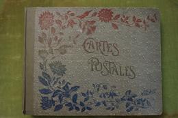 Album Ancien Dans Son Jus Composé De 372 Cartes Semi-modernes Touristiques Des Années 1940-1960, Noir, Bistre, Couleurs - 100 - 499 Karten