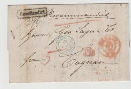 Brs239 / Berlin Francostempel 1872 Nach Cocnac (Frakreich Per Einschreiben - Deutschland