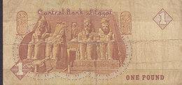 Egypt Egypte - 1 POUND (2 Scans) - Aegypten