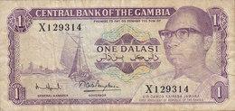 Gambia - 1 DALASI Sir Dawda Kairabi Jawara X 129314 (2 Scans) - Gambia