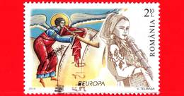 ROMANIA - Usato - 2014 - Europa - Strumenti Musicali - Tulnic - 2.10 - 1948-.... Repubbliche