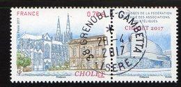 France 2017.Cholet.Cachet Rond Gomme D'origine. - France