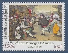 """= Pieter Bruegel L'Ancien """"La Danse Des Paysans"""" N°3369 Oblitéré - Gebraucht"""