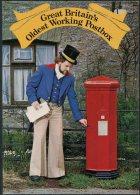 1978 GB Sherborne Dorset First Day Postcard, Oldest Working Post Box, Postman - 1952-.... (Elizabeth II)