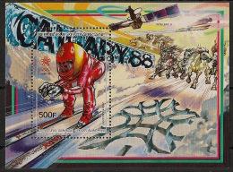 Centrafricaine - 1987 - Bloc Feuillet N°Yv. 91 - JO Calgary 88 - Neuf Luxe ** / MNH / Postfrisch