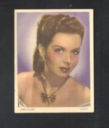 CHROMO  (10,5 X 8 Cm) FILM ACTRICE ANN MILLER   (C 1414) - Vecchi Documenti