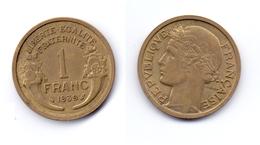 France 1 Franc 1939 - France