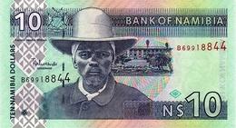 NAMIBIE 10 DOLLARS ND (2009) P-4c NEUF SANS 10 EN UV [NA204b] - Namibia