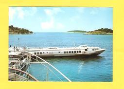 """Postcard - Ship """" Aerodrom Split """"   (V 31213) - Velieri"""