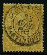 FRANCE COLONIES - EMISSIONS GENERALES - YT 53 - TIMBRE OBLITERE - Alphée Dubois