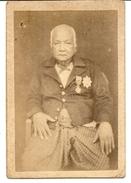 CAMBODGE .VETERANT .PHOTO PORTRAIT - Anciennes (Av. 1900)