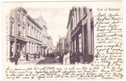 Roermond - Steenweg Met Veel Volk - 1900 - Roermond