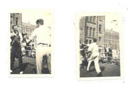 BASSE - WAVRE - Lot De 2 Photos ( +/- 6 X 9 Cm)  Petit Séminaire, Ring, Combat De Boxe  (sf111) - Luoghi