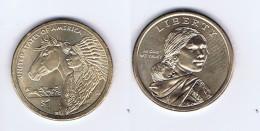 Stati Uniti - 1 Dollaro Nativi Americani 2012 - Zecca D - Bondsuitgaven