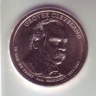 Stati Uniti - 1 Dollaro Cleveland 2° Mandato - Zecca D - Emissioni Federali