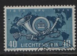 1949 UPU 227/277 O Vaduz