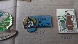 SAINTE GENEVIEVE DES BOIS SALON DE L'AUTO - Badges