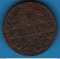DOA 1 HELLER 1913 J  KM# 7 - East Germany Africa